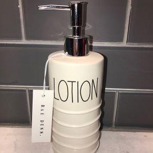 rae dunn lotion